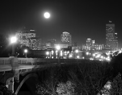 Columbia, SC @ Night photo by Joseph C. Hinson Photography