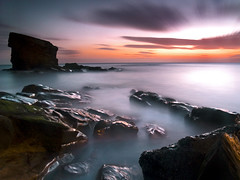 129 seconds of Seaton Sluice photo by dan barron photography - landscape work