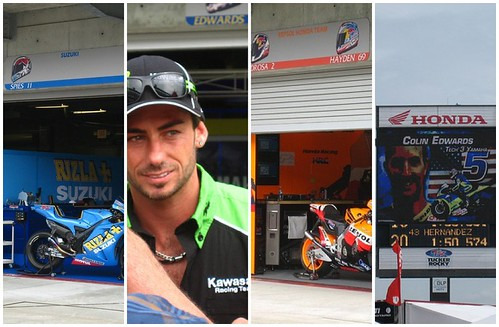 Indy GP Paddock Day Mosaic 1