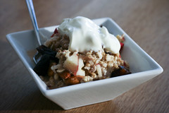 Bircher Muesli with Yogurt