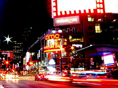Dundas Square Toronto photo by timberwolf1212