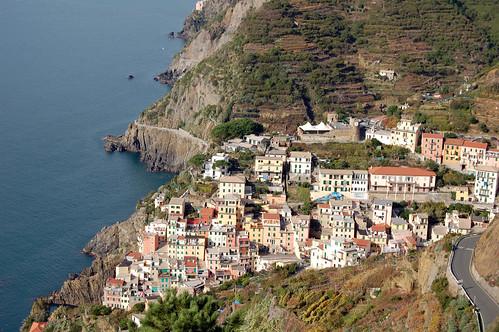 Above Riomaggiore, Cinque Terre