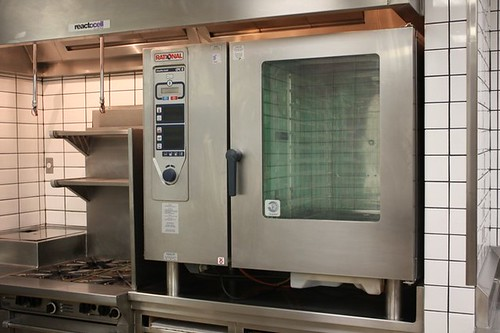 Huge specialized oven used for meat broiling and slow cooking