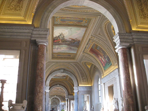 008 - Rome - Paintings in Corridor to Sistine Chapel