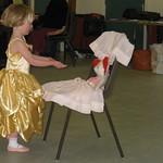 Dressed up at Ballet<br/>01 Apr 2008