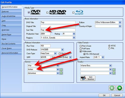 DVD Profiler 8
