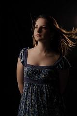 Hannah on Black photo by adamrhoades