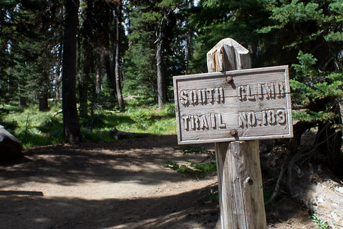 South climb trail starts here