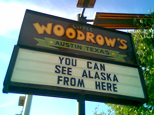 you can see alaska from here on Flickr by ˍcheryl
