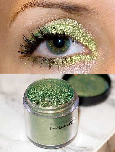 M.A.C. Golden Olive Pigment eyeshadow