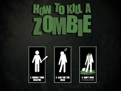 How To Kill A Zombie photo by Photo Giddy