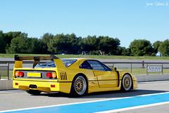 Ferrari F40 Inside... photo by calians.sevan