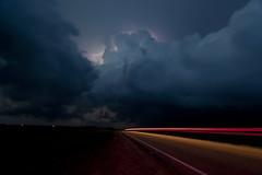 Nebraska supercell after dark photo by Mike Olbinski Photography