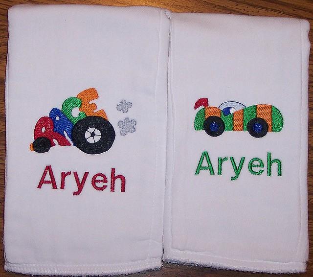 burp clothes embroidery  u00ab embroidery  u0026 origami