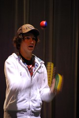 Juggling class