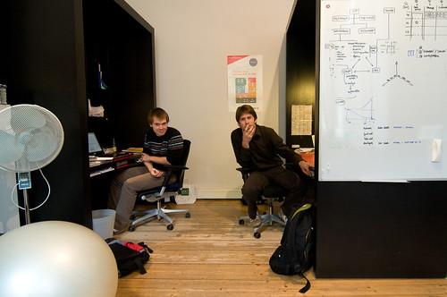 Matthias en Bart