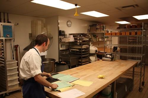 Per Se's wonderful pastry chef, originally from Cambridge, England