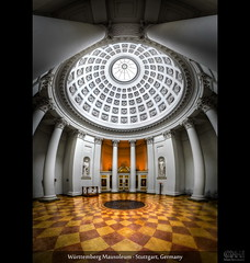 Württemberg Mausoleum - Stuttgart, Germany (HDR Vertorama) photo by farbspiel