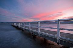 | Sunset at Lake Illawarra | غروب الشمس في بحيرة إلوارا | photo by Taha Elraaid