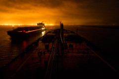 Ships Passing at Night photo by OneEighteen