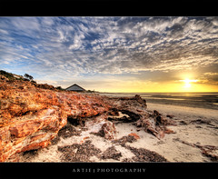 """The """"Bridge"""" Rock, Moonta Bay :: HDR photo by :: Artie   Photography ::"""