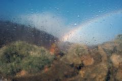 car window rainbow photo by f.monteverde