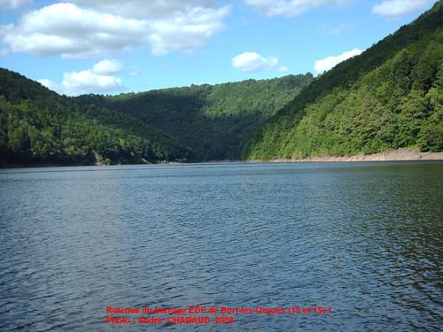 Retenue du barrage de Bort-les-Orgues (Corrèze et Cantal) 1