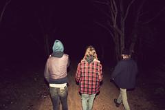 backs in black photo by coolhandluke