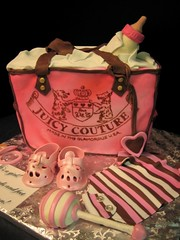 Juicy baby bag  cake new photo by debbiedoescakes