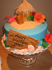 Tiki Birthday Cake photo by harebender1