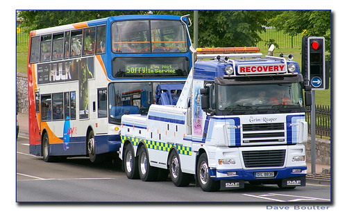 Stagecoach Devon 18072 WA04CSV Breakdown