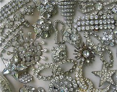 Vintage Rhinestone Costume Jewelry photo by speckled-egg