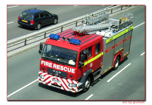 Devon and Somerset Fire Brigade WA04MZO