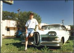58 Edsel, Groom TX, 1996 photo by john4kc