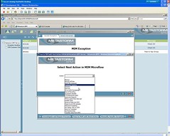 Exception from MIM in BPM - select next MIM step for reinjection