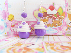 Cupcake earrings photo by ★ Meow-maw ★