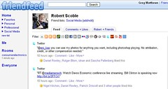 Scoble's FriendFeed