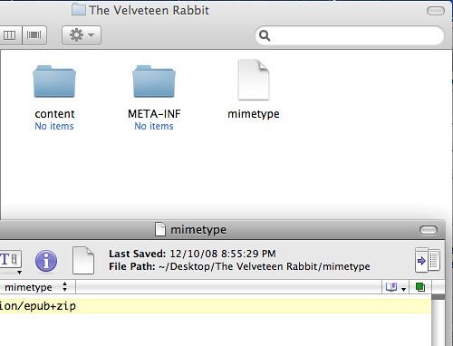 Velveteen Rabbit - mimetype