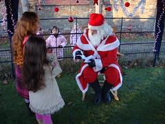 Père Noël arrive en moto-102