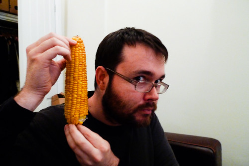 A large ear of corn