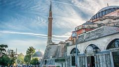 Hagia Sophia Istanbul 4K Wallpaper / Desktop Background photo by Loek Janssen