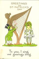 Irish Americana St. Patricks Day Lad/Lass LOVE Message