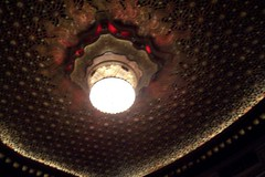 Ceiling at the Orpheum Theatre