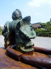 Nijo-jo gardens - Bell