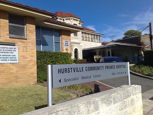 hospital in hurstville