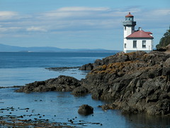 Lime Kiln Lighthouse San Juan Island WA photo by Feist, Mickey T - catchthefuture