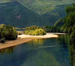 Green Drina - summer landscape photo by Katarina 2353