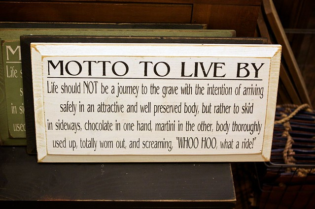 Funny Life Mottos to Live By