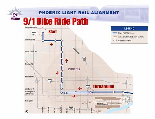 Phoenix Light Rail Map Schedule
