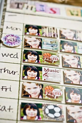 Hybrid Magnetic Weekly Planner